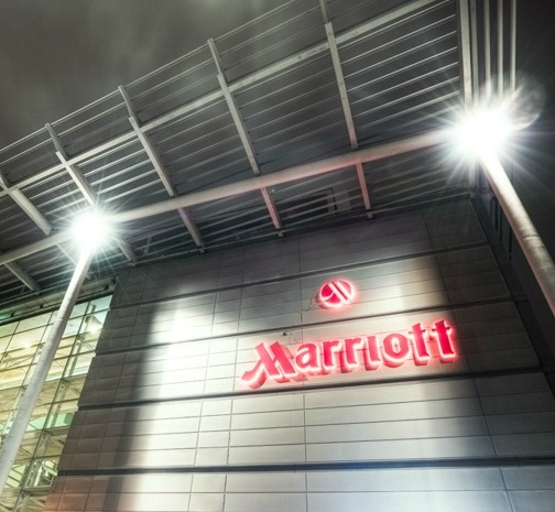 Marriott Hotel LED Car Park Lighting