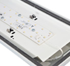 5ft LED weatherproof and anti-corrosive luminaire 4000K Neutral White