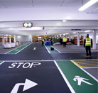5ft LED weatherproof and anti-corrosive luminaire airport undergound carpark