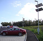 LED Solar Street Lighting UK Car Park Dusk till Dawn Operation