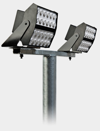LED Flood Lighting Brackets 76mm spigot column