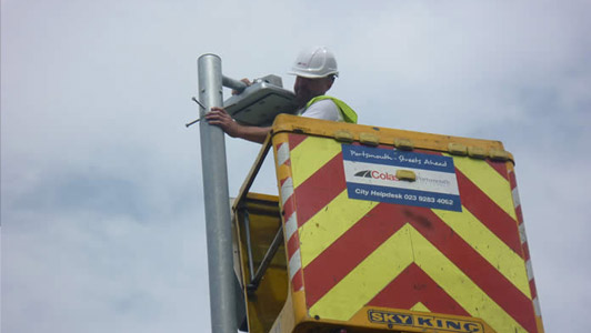 Portsmouth City Council Trials LED Street Lights from Gemma Lighting