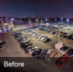 Radisson Blu Heathrow Car Park Lighting Before