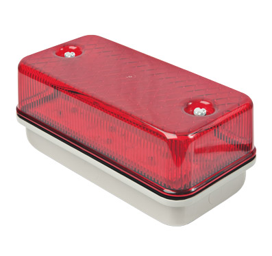 LED Bulk Head Red