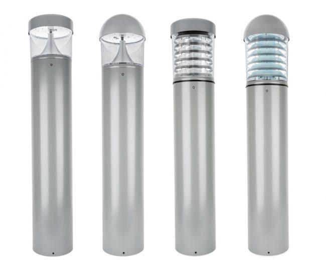 Grey-LED-Bollards